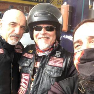 Más miembros del Tercio Levente, que salen de Valencia el Viernes para unirse en Granada con el resto